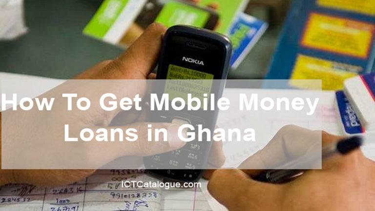 Apply For Mobile Money Loans in Ghana