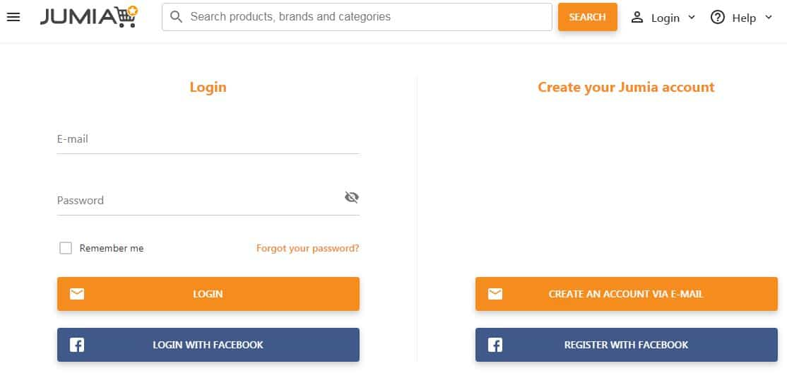 How To Register For Jumia Online Shopping Store