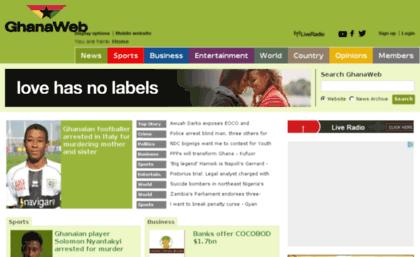 Ghana Web Website Is Being Hacked