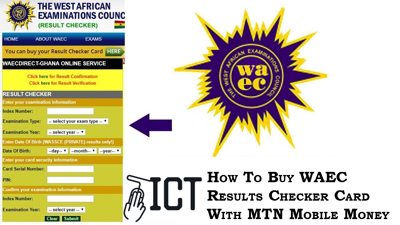 How To Buy WAEC Results Checker Card Using MTN Mobile Money