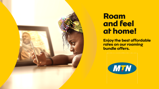 Enjoy Free Roaming Charges Outside Ghana With MTN HelloWorld