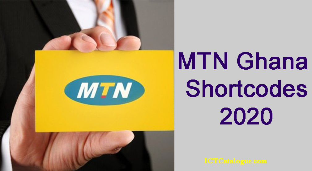 MTN Ghana Shortcodes To Know in 2020