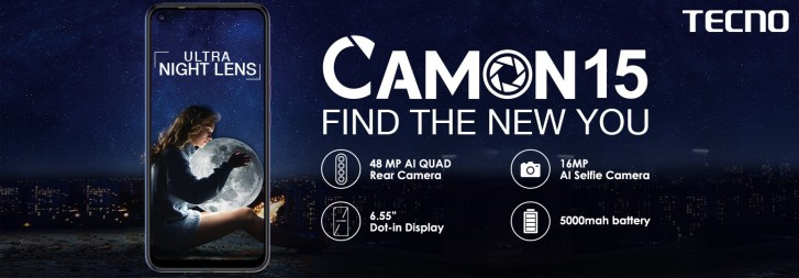 Tecno Camon 15 And Camon 15 Pro Bring A Pop-up And 48 MP Quad Camera Setup