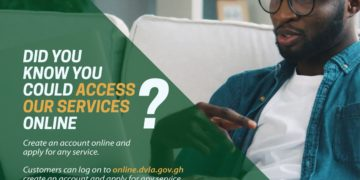 How To Register For DVLA Online In Ghana