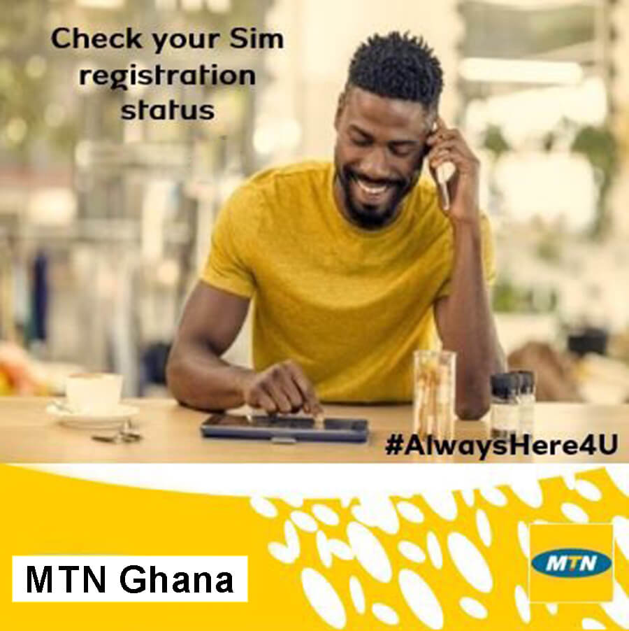 How To Check Your MTN Ghana SIM Registration Status