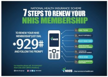 How To Renew NHIS Membership On Any Mobile Phone In Ghana