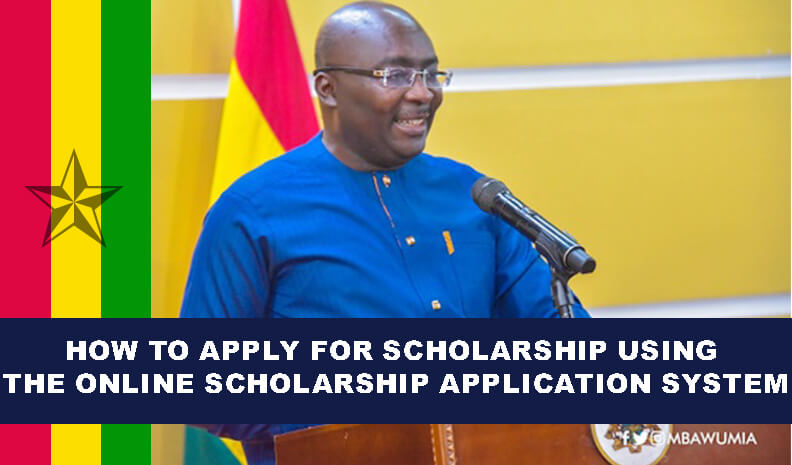 How To Apply For Scholarship Using The Online Scholarship Application System In Ghana