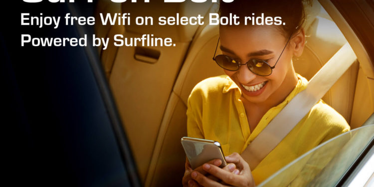 Surfline Communications Announces A Strategic Partnership With Bolt To Provide Wi-Fi Connectivity For Drivers And Passengers In Ghana