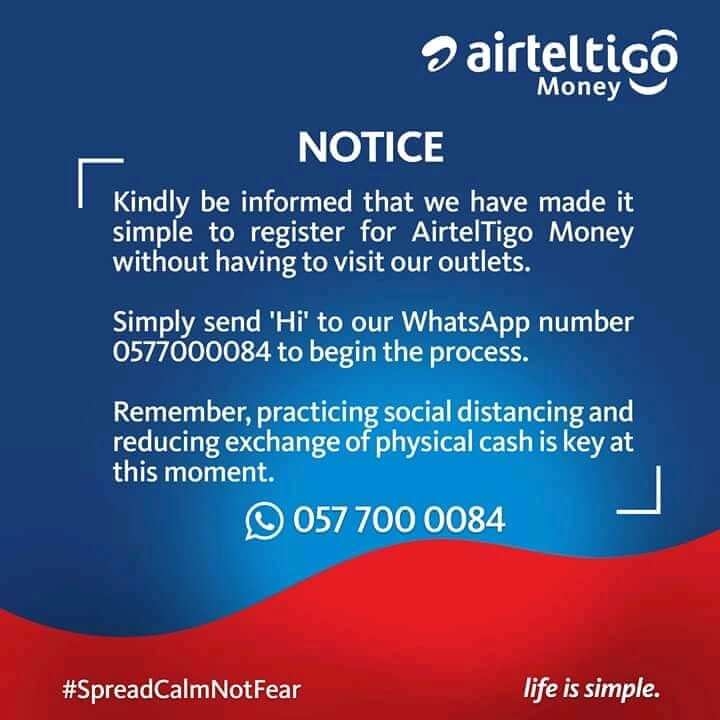 How To Register AirtelTigo Money Account Yourself
