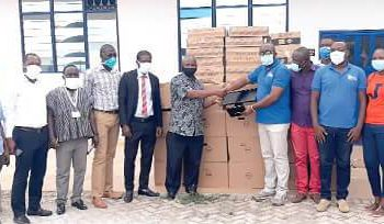 GIFEC Donates 20 Laptops To Valley View University