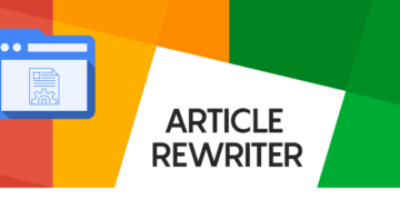 How To Save Time By Using An Online Article Rewriter