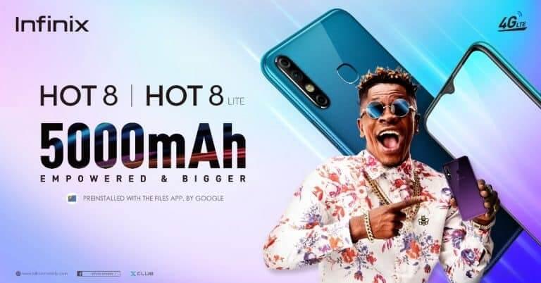 Infinix Hot 8 Price in Ghana