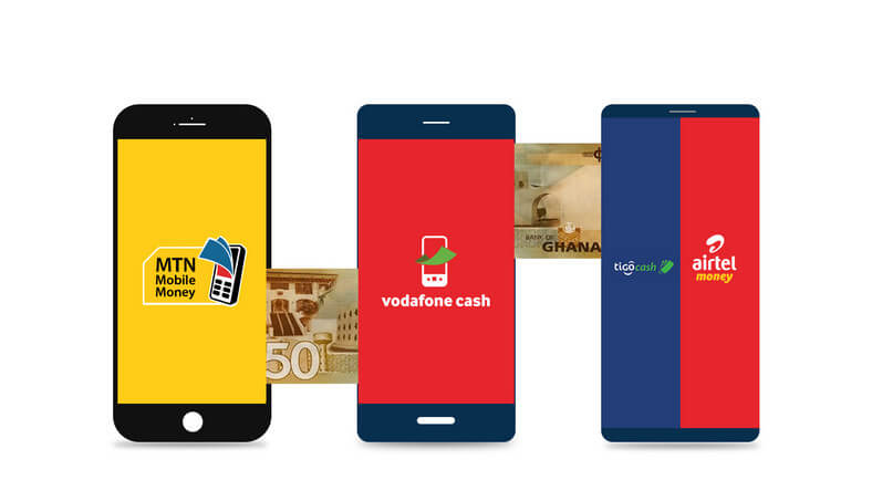 How To Buy Airtime With MTN Mobile Money, AirtelTigo Money Or Vodafone Cash