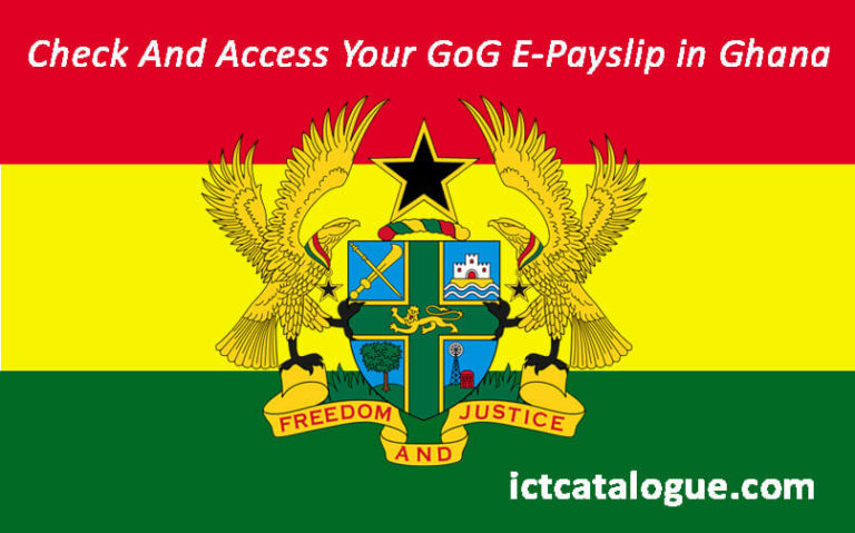 how to check and access your GOG payslip in Ghana