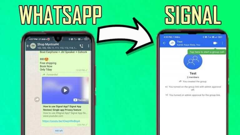 How To Transfer WhatsApp Groups To Signal