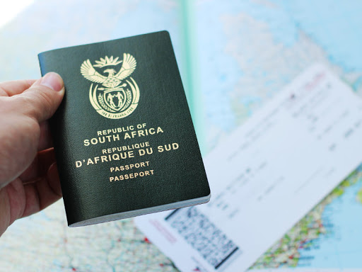 renew passport online in South Africa