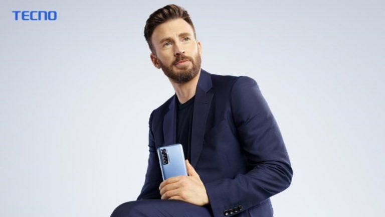 Tecno Unveils Actor Chris Evans (Captain America) As Its Global Brand Ambassador