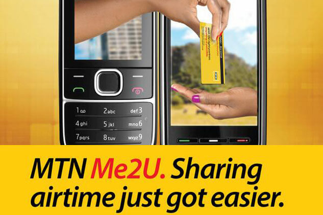 how to register for MTN Me2U service in Ghana