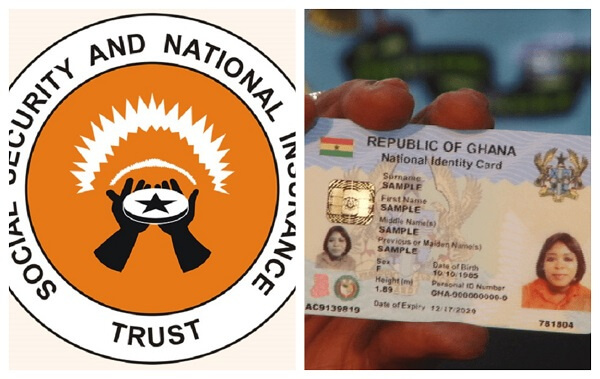 Link SSNIT number to Ghana Card number