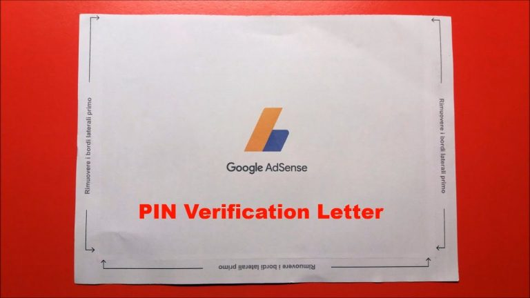 How to verify Google AdSense without PIN