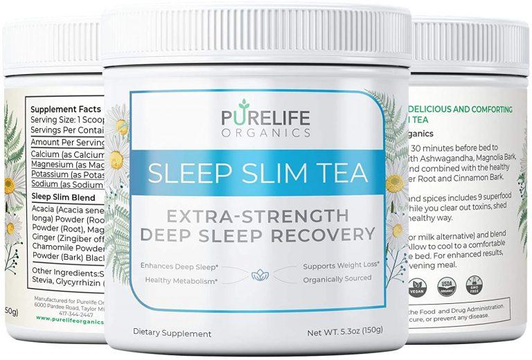 Purelife Organics Deep Sleep Slim Tea Review