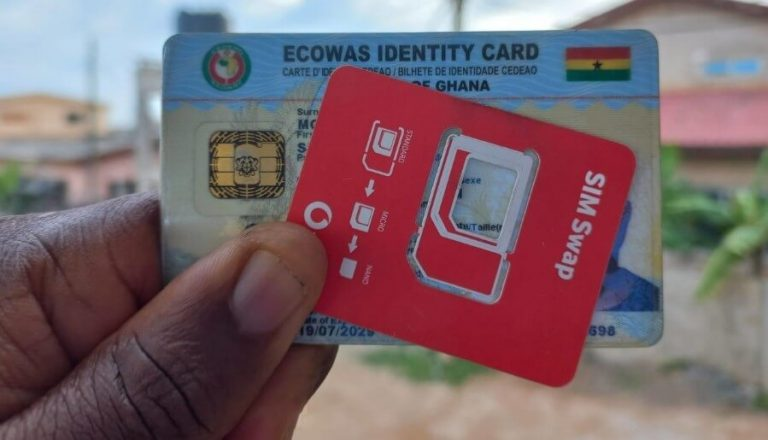 How to register your SIM Card with Ghana Card using short code